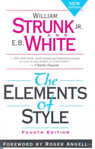elements of style by william strunk jr