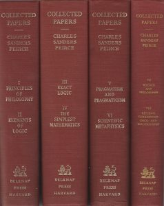 the collected papers of charles sanders peirce