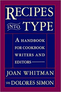 recipes into type