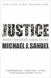 justice - best philosophy books for beginners