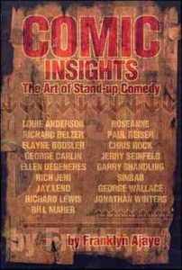 comic insights - best books for aspiring comedians