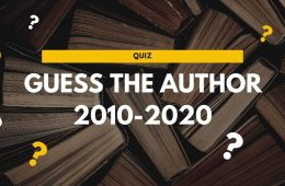 quiz - guess the author 2010-2020